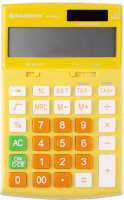 Калькулятор Darvish DV-2666T-12Y (желтый) -