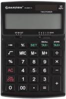 Калькулятор Darvish DV-2666T-12K (черный) -