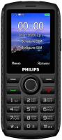 Мобильный телефон Philips Xenium E218 (темно-серый) -