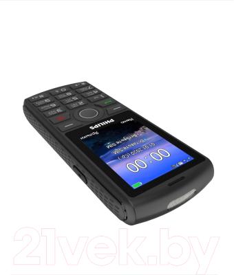 Мобильный телефон Philips Xenium E218 (темно-серый)
