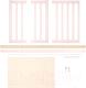 Комплект расширения для кроватки Happy Baby 95029 (розовый) -