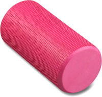 Валик для фитнеса массажный Indigo Foam Roll / IN045 (розовый) -