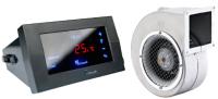 Комплект для управления климатической техникой KG Elektronik Контроллер CS-19 + Вентилятор DPS-02 -