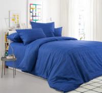 Комплект постельного белья Моё бельё Эко БП 20493/15 Евро (синий) -