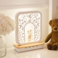 Прикроватная лампа Home Light Астерия F034-1 (белый) -
