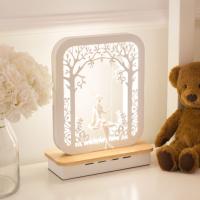Прикроватная лампа Home Light Астерия F034-2 (белый) -