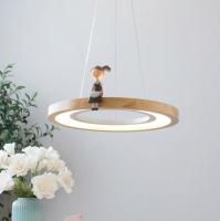 Потолочный светильник Home Light Астерия D259-2 (дерево) -