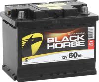 Автомобильный аккумулятор Black Horse 60 R низкий / BH600N (60 А/ч) -