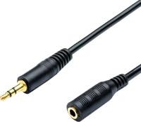 Удлинитель ATcom AT6847 Jack3.5(m)/Jack3.5(f) (1.8м) -