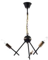 Люстра Aitin-Pro НСБ RH8067/3 (черный/золото) -