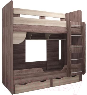 Двухъярусная кровать детская Комфорт-S Доминик New М14