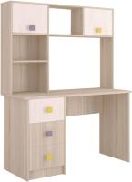 Письменный стол Комфорт-S Агнешка New М6 (белая лиственница/туя светлая) -