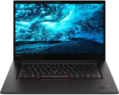 Игровой ноутбук Lenovo ThinkPad X1 Extreme 2nd (20QV0011RT)