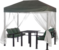 Беседка Удачная мебель Отдых (зеленый) -
