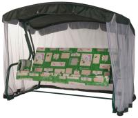 Качели садовые Удачная мебель Тропикана (зеленый 529) -