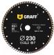 Отрезной диск алмазный GRAFF 17230 -