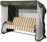 Качели садовые Удачная мебель Варадеро премиум (зеленый 309) -