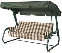 Качели садовые Удачная мебель Ибица (зеленый 317) -