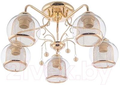 Люстра Aitin-Pro НПБ XA1041B/5 (золото)