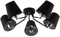 Люстра Aitin-Pro НПБ A621/5 (черный/хром) -