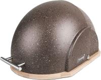 Хлебница Maestro MR-1678-BR (коричневый) -