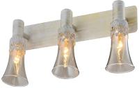 Бра Aitin-Pro НПБ 16756/3 (белый/золотая патина) -