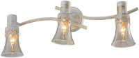 Бра Aitin-Pro НПБ 16754/3 (белый/золотая патина) -