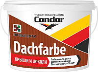 Краска CONDOR Dachfarbe D-06 (3.25кг, темно-коричневый) -