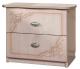 Прикроватная тумба Мебель-КМК Розалия 0456.3 (дуб молочный) -