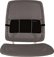 Подушка для спины Fellowes FS-80421 (черная) -