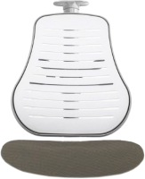 Чехол для стула Comf-Pro Conan (серый стрейч) -