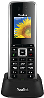 Дополнительная телефонная трубка Yealink W52H (черный) -