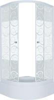 Душевой уголок Triton Стандарт В 90x90 (узоры) -