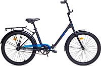 Велосипед AIST Smart 24 1.1 (черный/синий) -