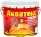 Защитно-декоративный состав Акватекс Экстра (3л, дуб) -