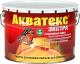 Защитно-декоративный состав Акватекс Экстра (10л, палисандр) -