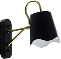 Бра Aitin-Pro НББ C897/1W (черный/золото) -