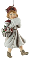 Елочная игрушка Erich Krause Decor Девочка с подарками / 51252 -