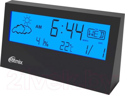 Метеостанция цифровая Ritmix CAT-044 (черный)