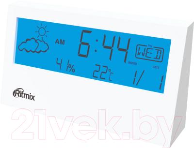 Метеостанция цифровая Ritmix CAT-044 (белый)