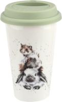 Кружка Portmeirion Wrendale Designs To Go Кролик, свинка и мышка / WNRV78753-XW -