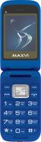 Мобильный телефон Maxvi E5 (синий) -