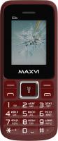 Мобильный телефон Maxvi С 3n (винный красный) -