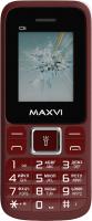 Мобильный телефон Maxvi С 3i (винный красный) -