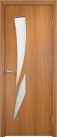 Дверь межкомнатная Юркас С2 ДО 60x200 L (миланский орех) -