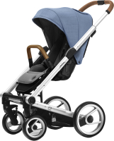 Детская прогулочная коляска Mutsy i2 Heritage (Bright Blue/Standart) -