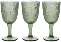 Набор бокалов Tognana Verde / N3585J80VER (3шт, зеленый) -
