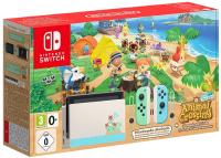 Игровая приставка Nintendo Switch + Animal Crossing -