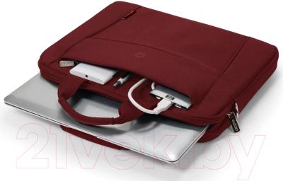 Сумка для ноутбука Dicota Slim Base D31306 (красный)