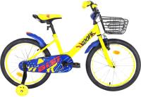 Детский велосипед AIST Goofy 2021 (16, желтый) -